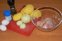 Ингредиенты для приготовления колдунов