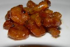 Карамелизированные креветки