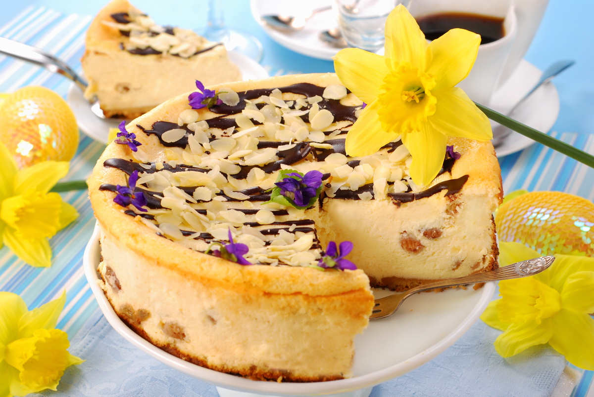 cheesecake for easter
