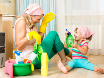Домашние чистящие средства