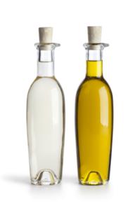 Уксус и оливковое масло