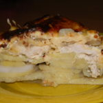 Картошка под шубой в духовке