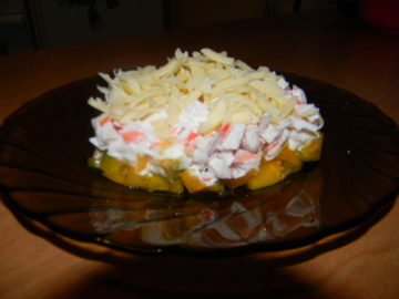 Салат из крабовыз палочек