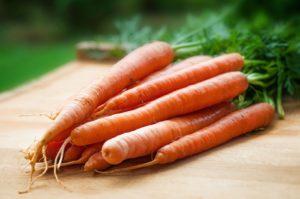 Кожура моркови
