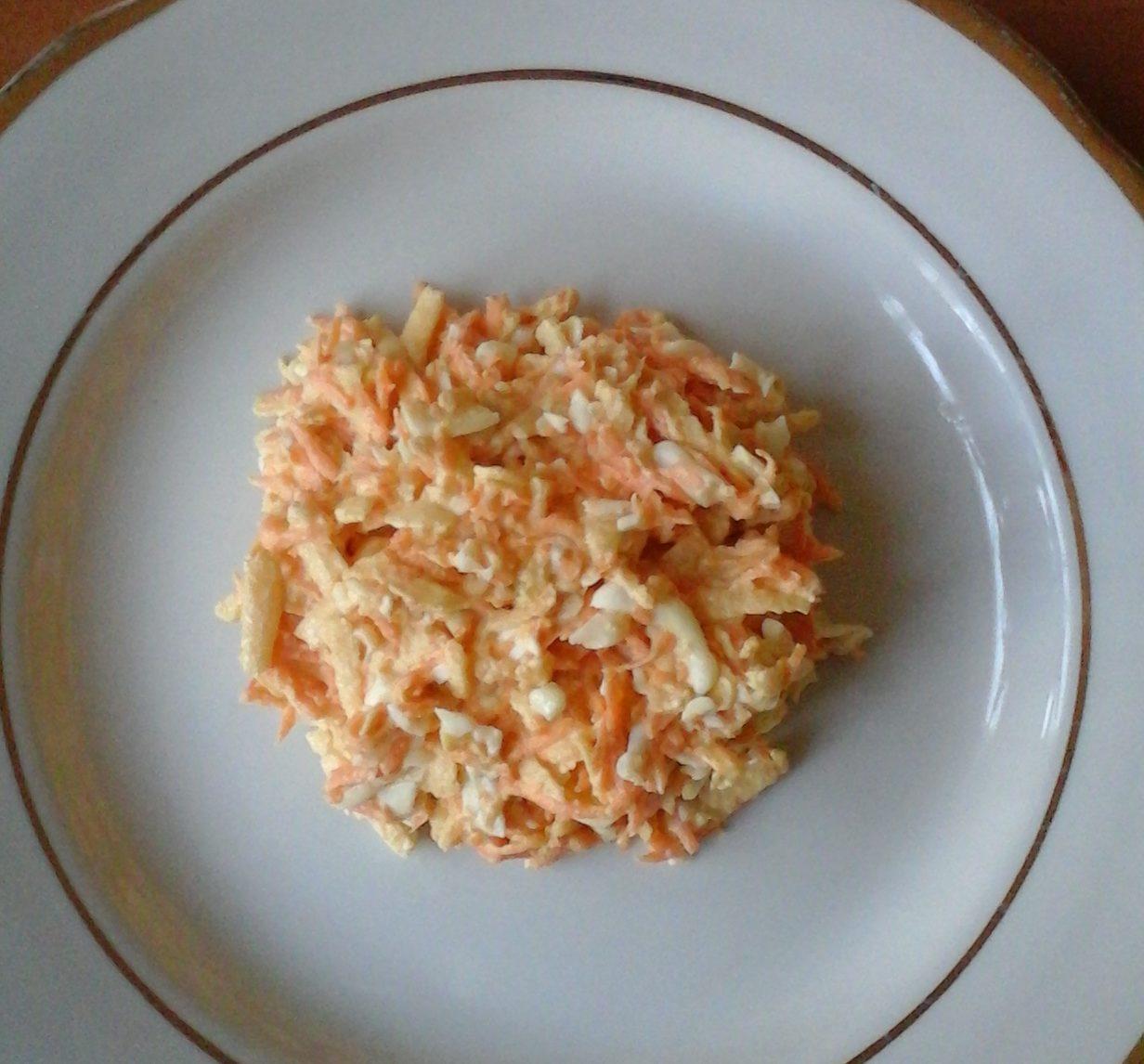 французский салат классический рецепт с яблоками и морковью
