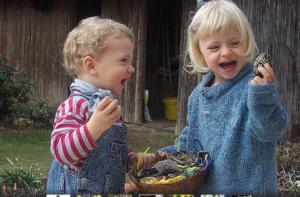 Дети и пасха