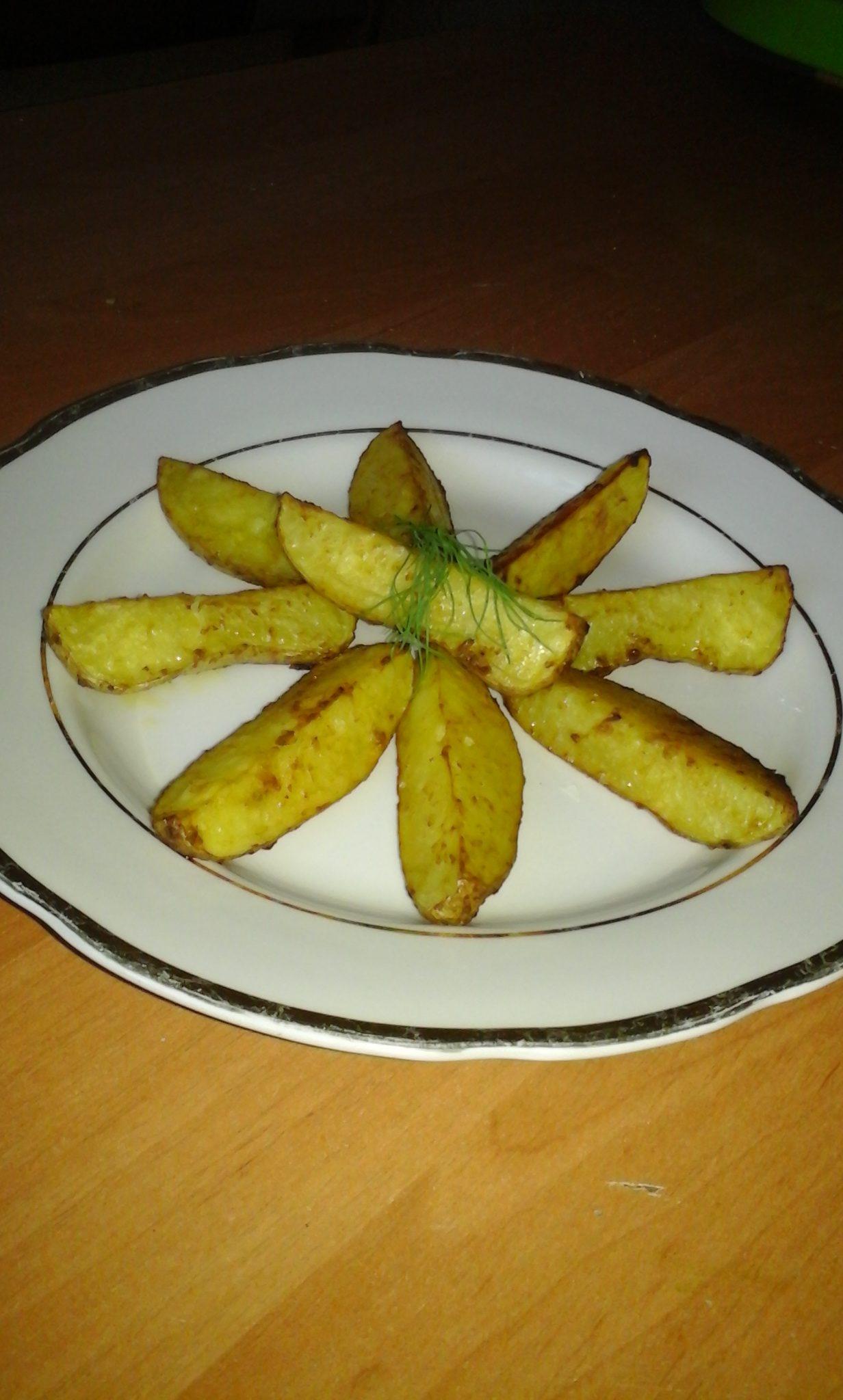картофель по деревенски рецепт как в макдональдсе