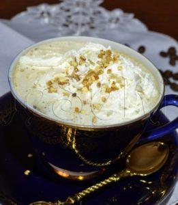 Кофе с какао и цукатами