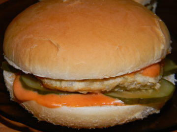 Гамбургер с котлетой