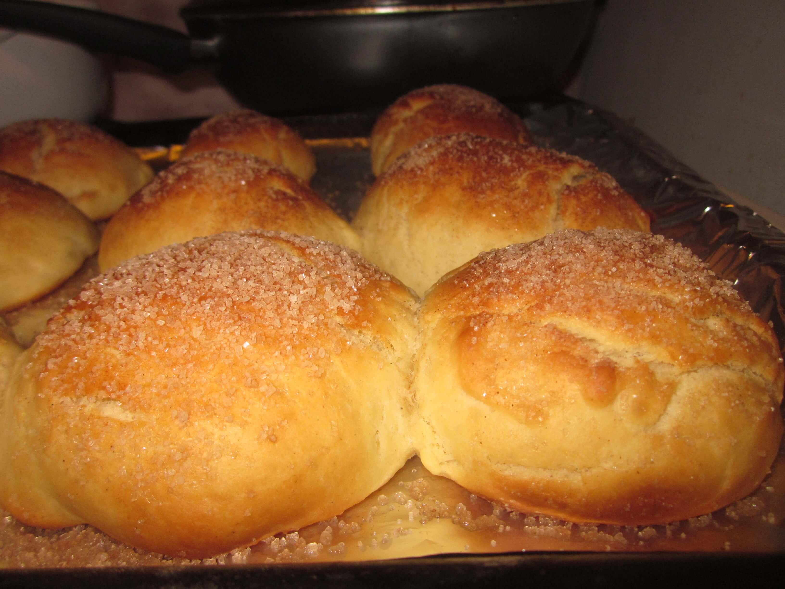 Тесто для булочек на молоке