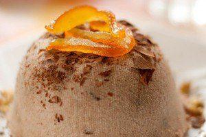 Шоколадно-апельсиновая пасха