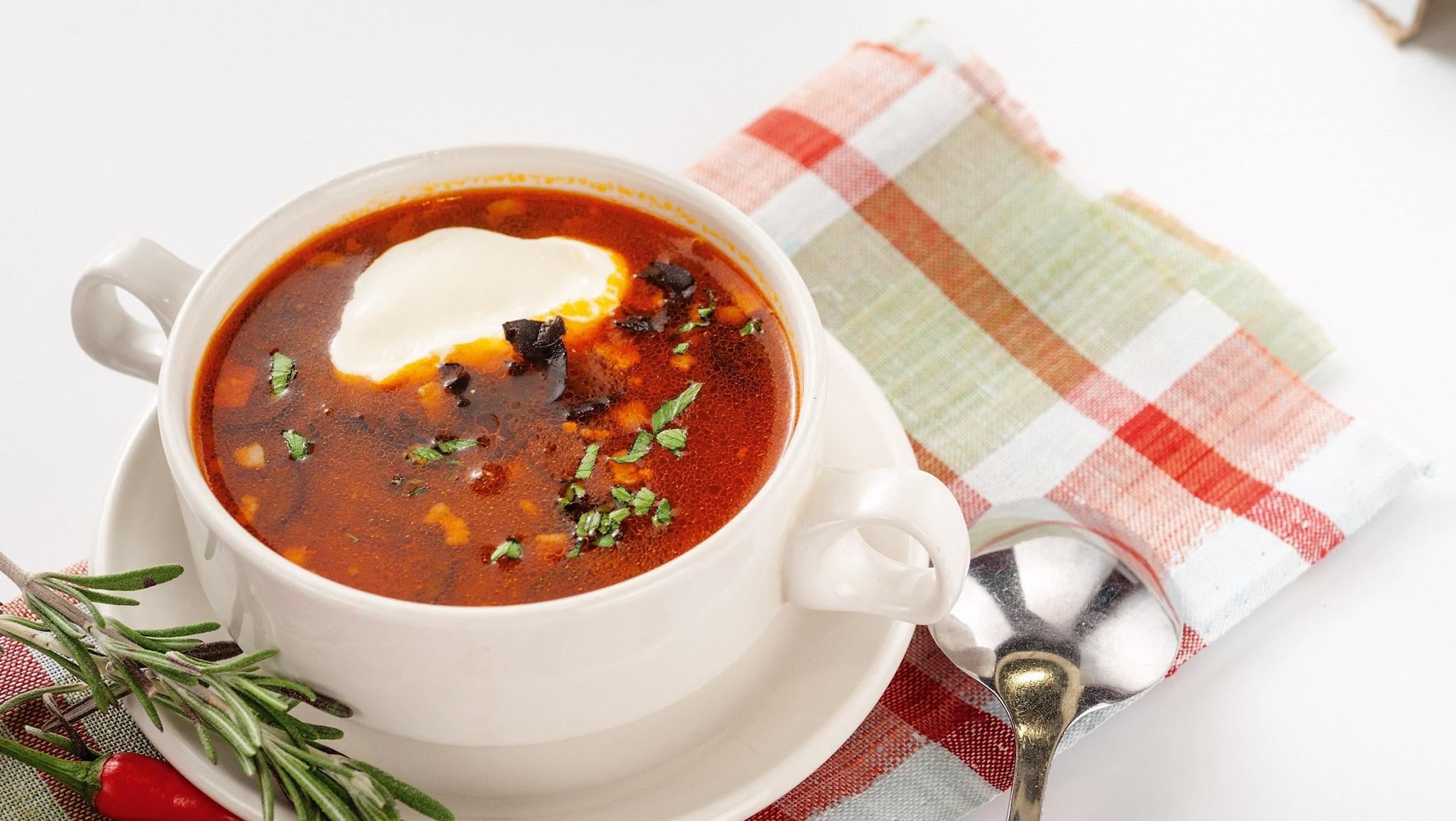 Солянка классическая суп рецепт
