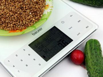 Меры веса продуктов