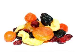 Мерная таблица ягод, бобовых, сухофруктов