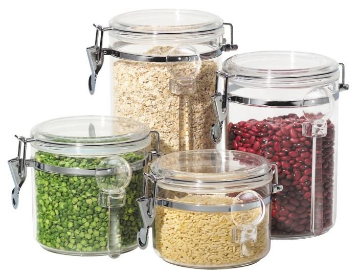 Меры веса сыпучих продуктов в граммах