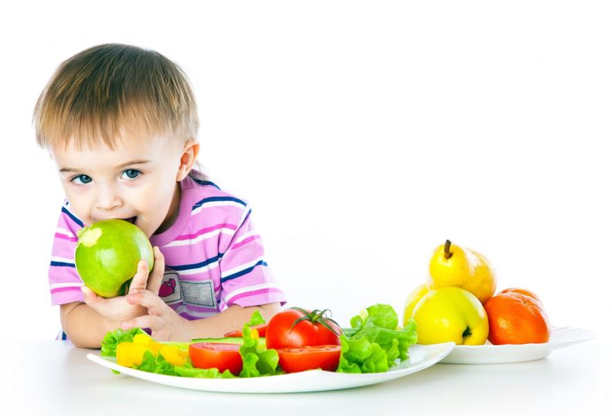 Продукты полезные для детей