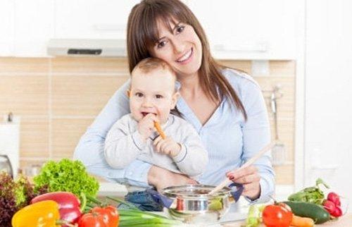 Полезное питание во время кормления грудью