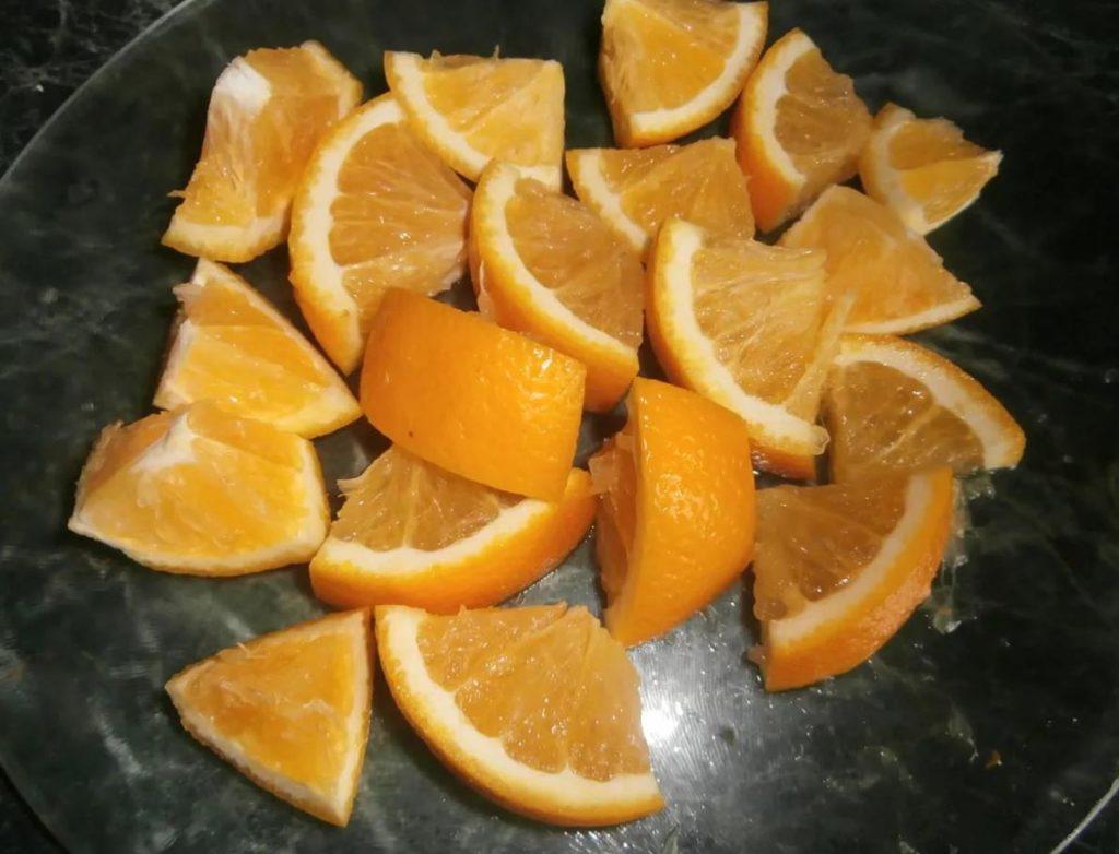 Как сделать апельсины в сахаре