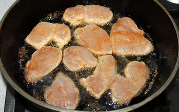 Как сделать куриную грудку на сковороде