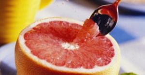 Как едят грейпфрут