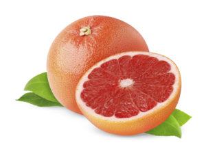 Розовый грейпфрут