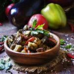 Соте из баклажанов на зиму — пошаговые рецепты с фото