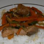 Утиное филе с грибами, рисом и овощами- пошаговый рецепт приготовления с фото