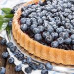 Пирог с черникой — 3 быстрых и простых пошаговых рецепта
