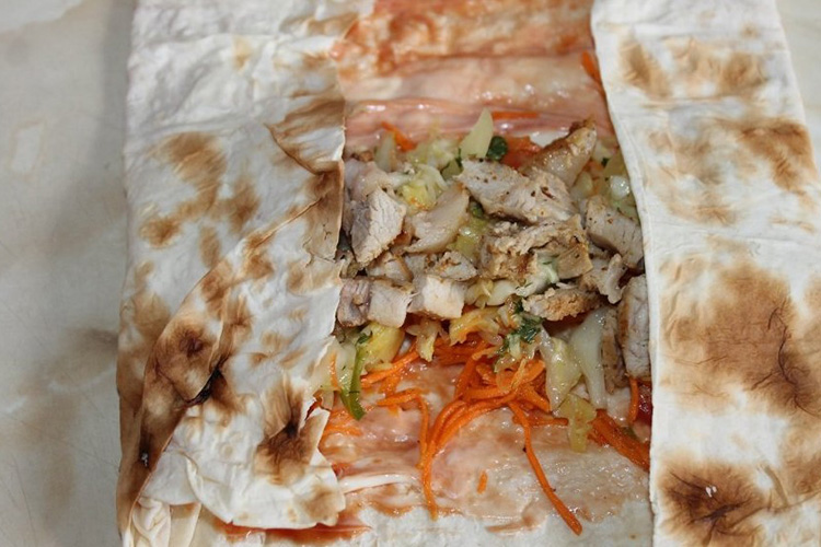 шаурма со свининой в домашних условиях рецепт с фото пошагово