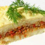 Картофельная запеканка с фаршем в духовке — пошаговые рецепты с фото