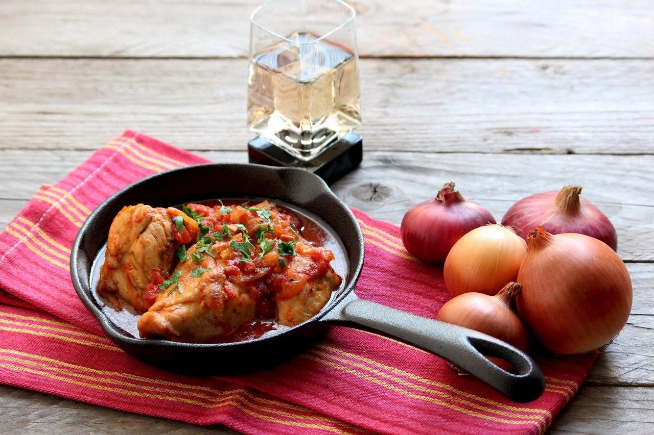 Чахохбили из курицы по-грузински - 3 вкусных пошаговых рецепта