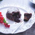 Шоколадные кексы с жидкой начинкой — пошаговый рецепт с фото ко дню Святого Валентина
